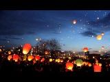 Новогодние небесные фонарики с бесплатной доставкой по Росии
